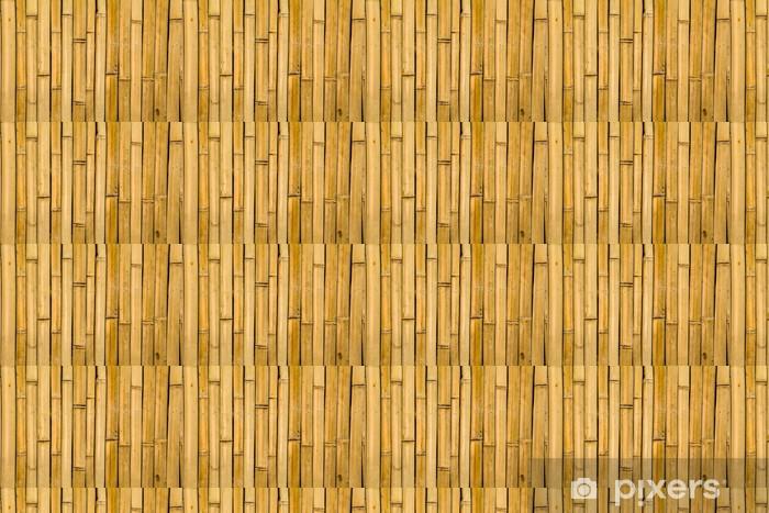Papier peint vinyle sur mesure Bamboo texture - Nature et régions sauvages