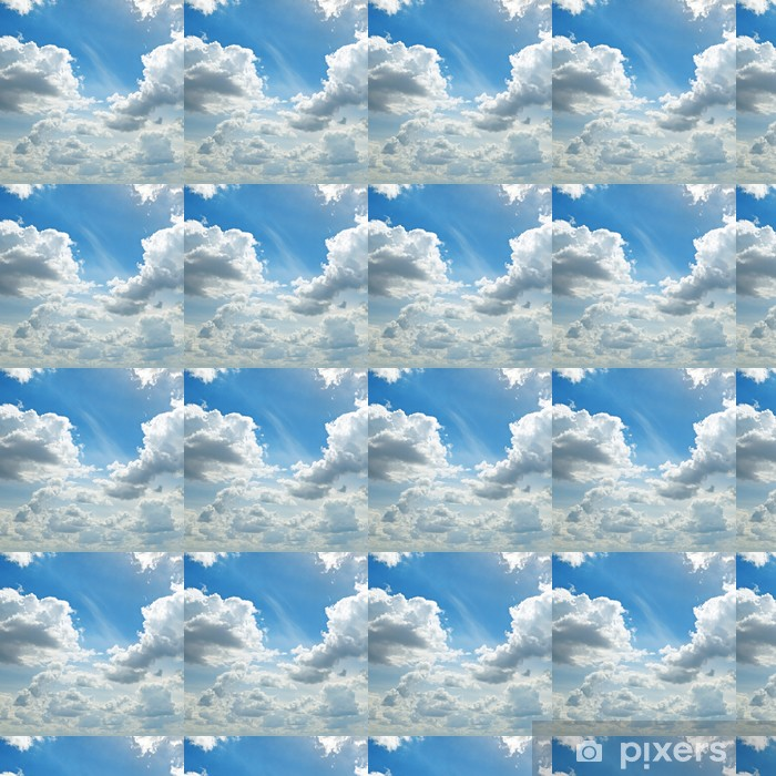 Tapeta na wymiar winylowa Światła chmury na niebieskim niebie - Tematy