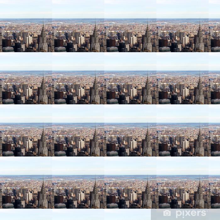 Papier peint vinyle sur mesure Paysage urbain de Manhattan - Villes américaines