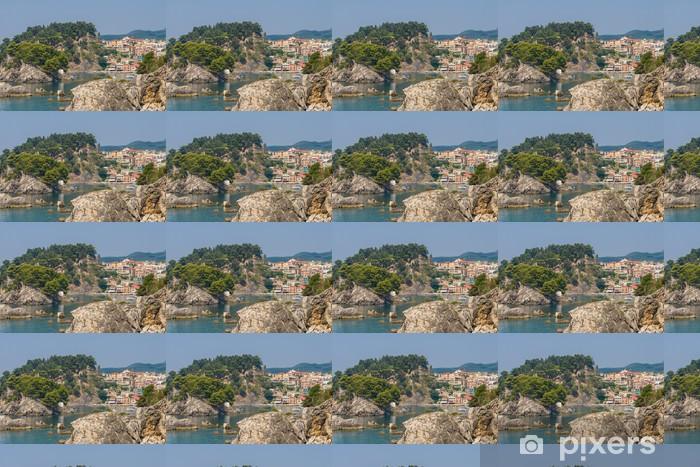Tapeta na wymiar winylowa Wieś Parga Epirus - Europa