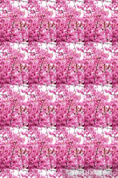 Papier peint vinyle sur mesure Fleurs tigre ou fleurs de cerisier Fleurs en Thaïlande floraison - Forêt