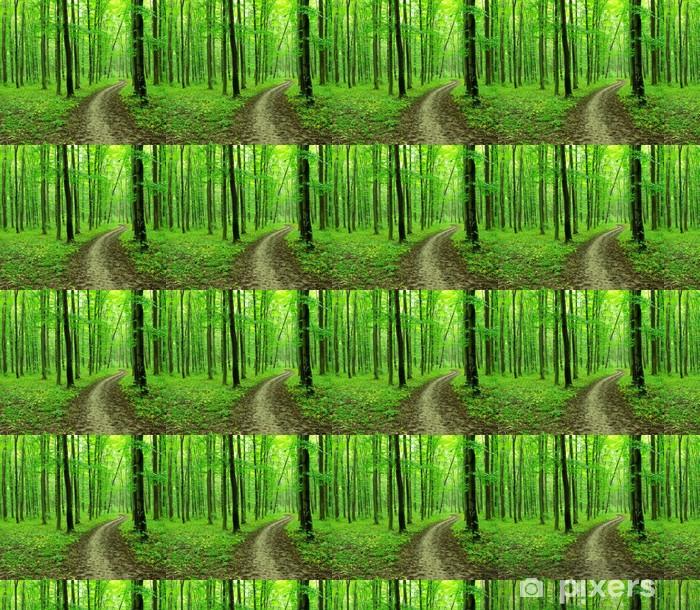 green forest Vinyl Custom-made Wallpaper - Wonders of Nature