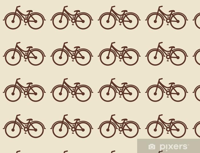 Papier peint vinyle sur mesure Conception vélo - Sur la route