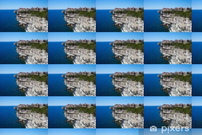 Bonifacio, Corsica, France. Vinyl custom-made wallpaper - Themes