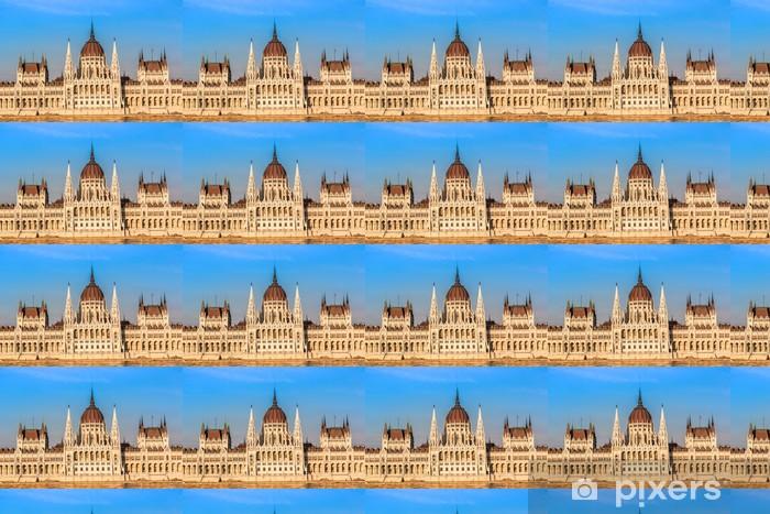 Vinylová tapeta na míru Řetězový most a maďarský parlament, Budapešť, Maďarsko - Evropa