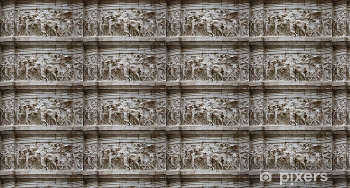 Tapeta na wymiar winylowa Detal architektoniczny - Miasta europejskie
