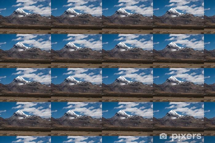 Vinylová tapeta na míru Divoké osly a Mt. Kailash, Tibet - Témata