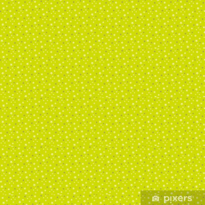 Tapeta na wymiar winylowa Wzór Wzór Zielona gwiazda - Tematy