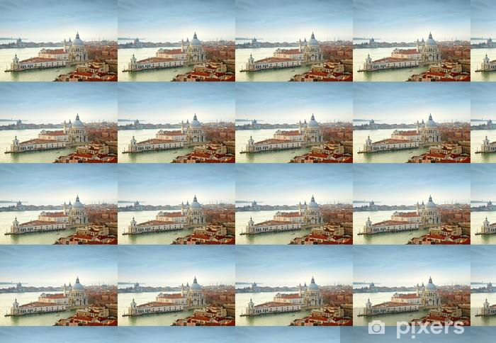 Tapeta na wymiar winylowa Canal Grande i Bazylika Santa Maria zdrowia, Wenecja, Włochy - Tematy