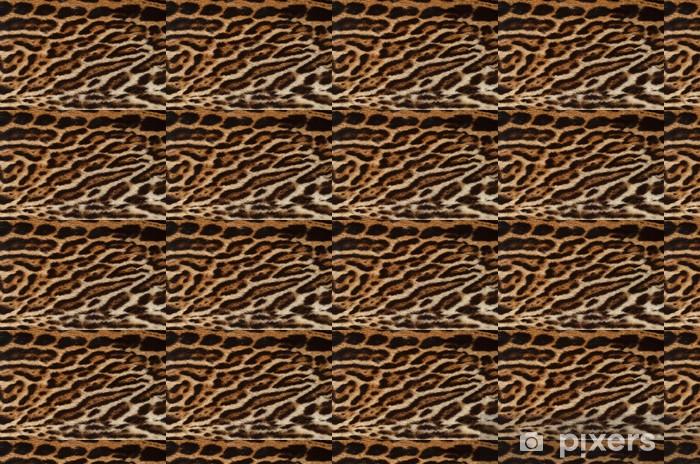 Papier peint vinyle sur mesure Ocelot texture de la fourrure - Textures