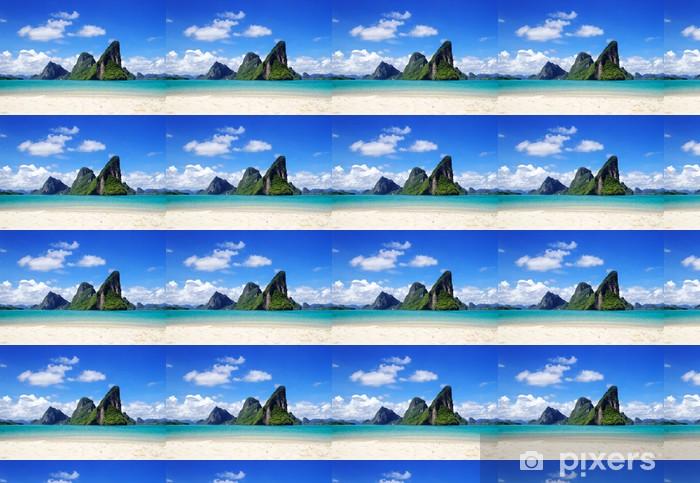 Papier peint vinyle sur mesure Naval - Îles