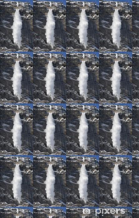Papier peint vinyle sur mesure Petit Avalanche, Lauterbrunnen, Suisse - Europe
