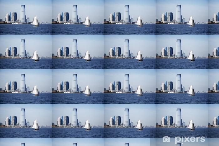 Tapeta na wymiar winylowa Jersey City Skyline - Miasta amerykańskie