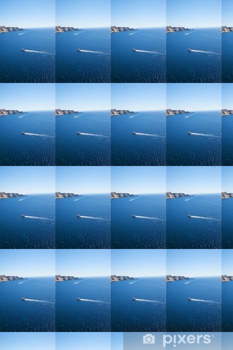 Papier peint vinyle sur mesure Corse côte, France. - Europe