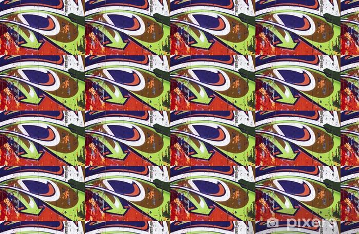 Tapeta na wymiar winylowa Mural kolorowe strzałki - Sztuka i twórczość