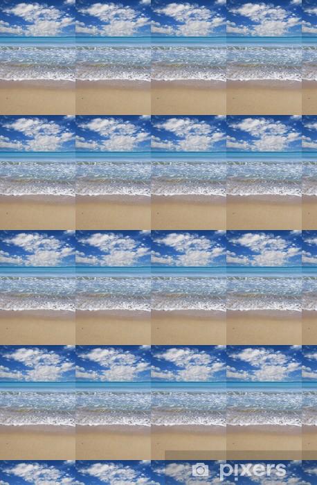 Vinylová tapeta na míru Krajina tropické pláži vertikální - Prázdniny