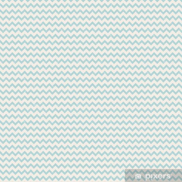 Tapeta na wymiar winylowa Chevron pastelowy niebieski bez szwu wzór - Style