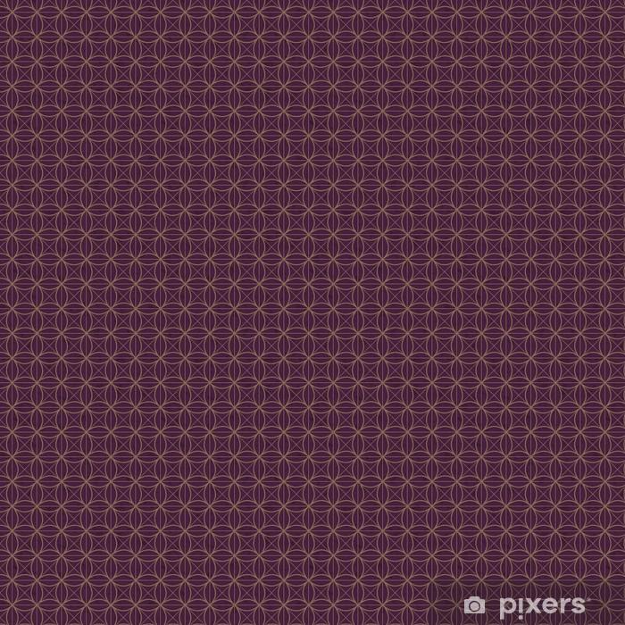 Tapeta na wymiar winylowa Bezszwowe wzór siatki Deep Purple - Tła