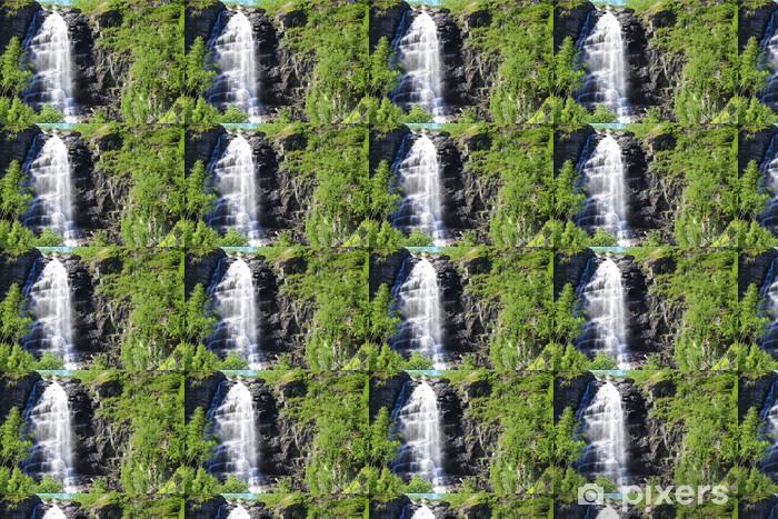 Vinyltapete nach Maß Waterfall - Wasser