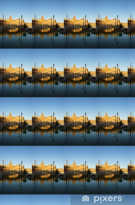 Vinyltapete nach Maß Plaza von Spanien, Sevilla, Spanien - Europa