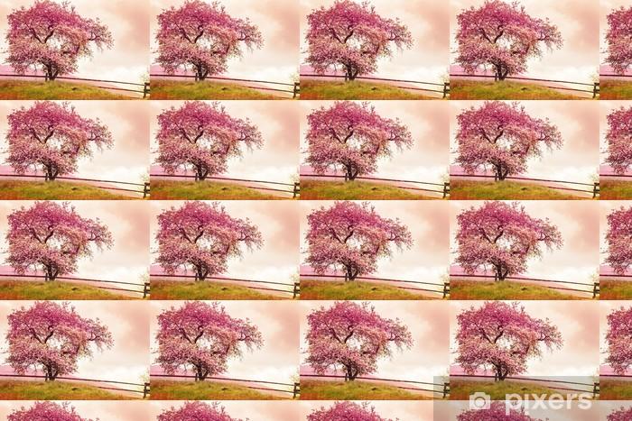 Tapeta na wymiar winylowa Apple kwiaty ponad niewyraźne tło natura / wiosennych kwiatów - Kwiaty