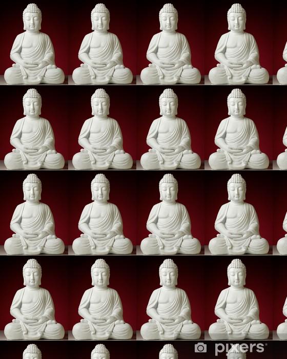 Papier peint vinyle sur mesure Statue de Bouddha en position de lotus - Thèmes