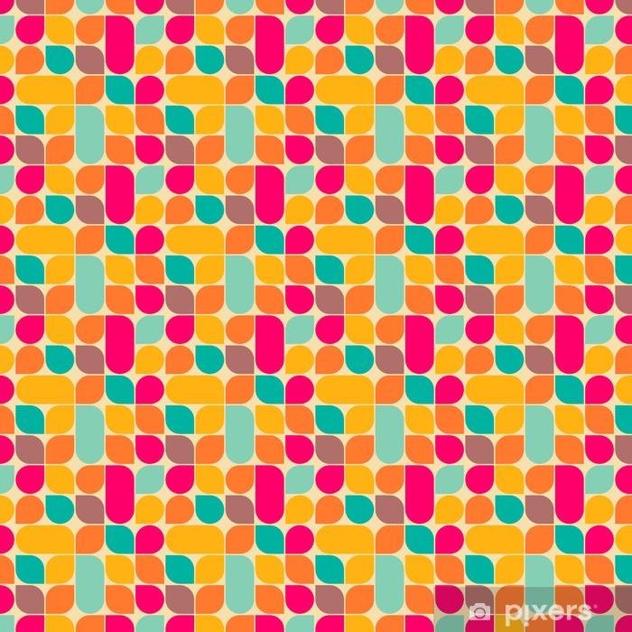 Vinyl behang, op maat gemaakt Retro abstracte naadloze patroon - Stijlen