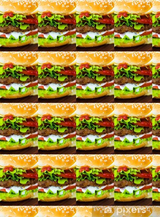 Tapeta na wymiar winylowa Burger - Tematy