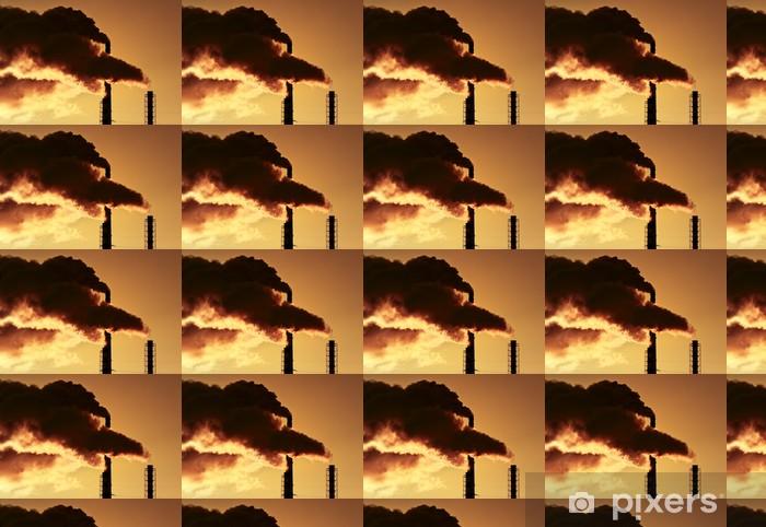 Papier peint vinyle sur mesure La fumée des pipes - Styles