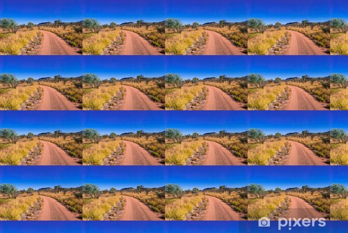 Australia, outback Räätälöity vinyylitapetti - Oseania