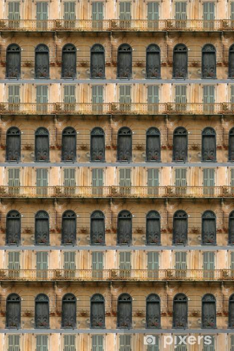 Tapeta na wymiar winylowa Drzwi i stary wenecki w Borguetto - Europa