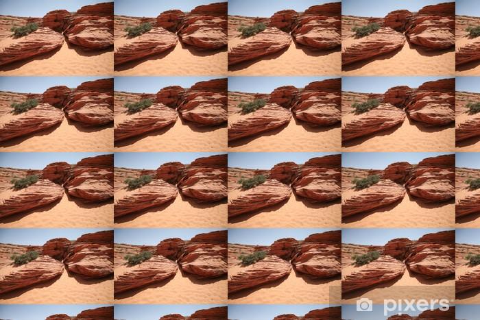 Vinylová tapeta na míru Skalní útvary v Glen Canyon, Arozona, USA - Příroda a divočina