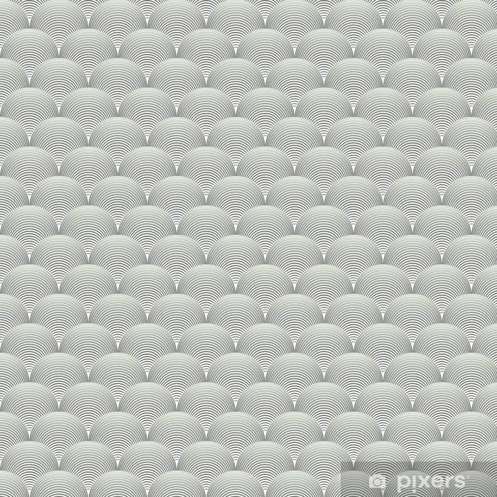 Papel pintado estándar a medida Adornado geométrica Pétalos de cuadrícula, Extracto Modelo inconsútil del vector - Recursos gráficos