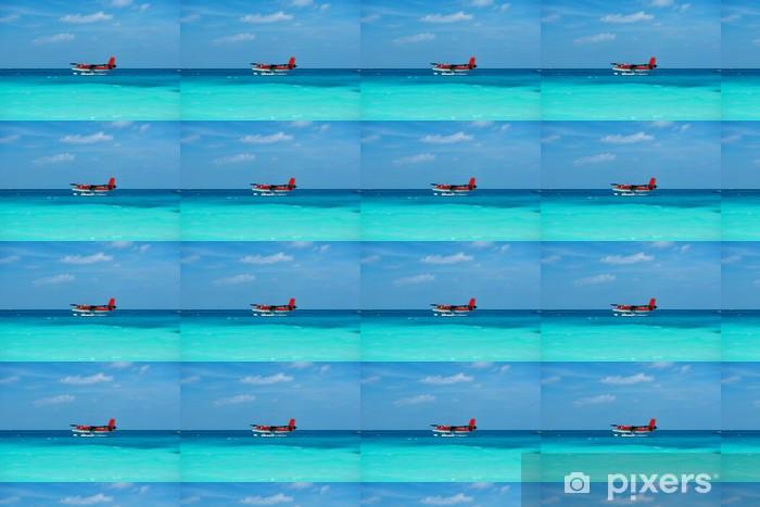 Tapeta na wymiar winylowa Twin Otter wodnosamolotów na Malediwach - Transport powietrzny