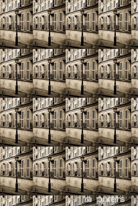Vinylová tapeta na míru Street na Montmartru v Paříži v sépie - Evropská města