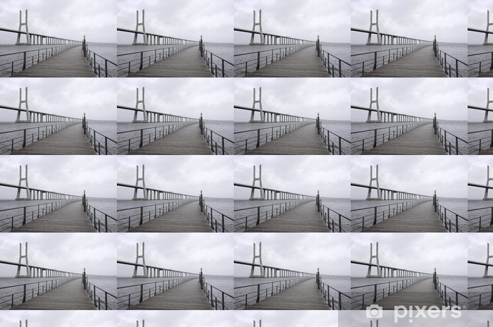 Tapeta na wymiar winylowa Most Vasco da Gama - Miasta europejskie
