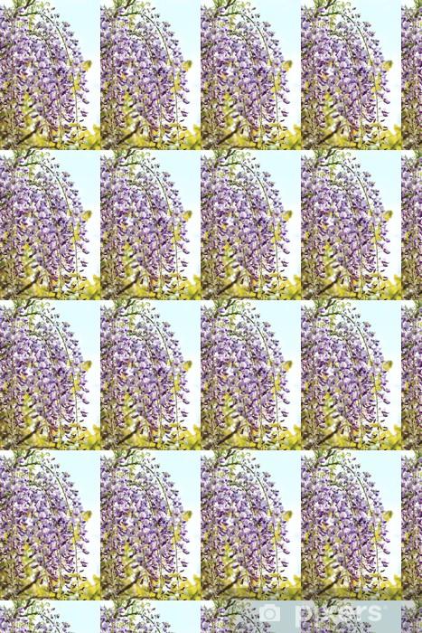 Papier peint vinyle sur mesure Pleine fleur de vigne - Fleurs