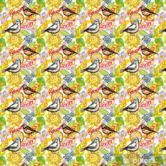 Tapeta na wymiar winylowa Akwarela abstrakcyjna powtarzalny tekstury - Sztuka i twórczość