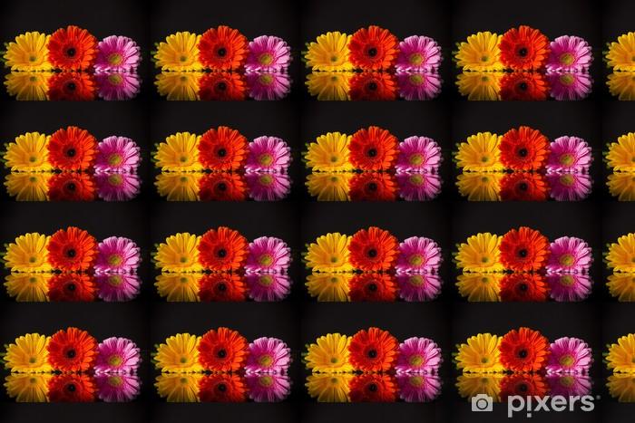 Tapeta na wymiar winylowa Kolorowych gerber - Fikcyjne zwierzęta