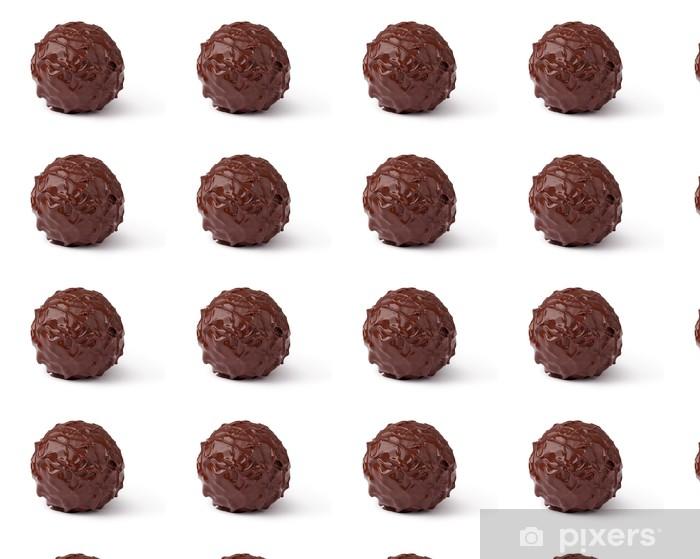 Tapeta na wymiar winylowa Cukierki czekoladowe - Słodycze i desery