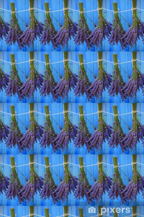 Tapeta na wymiar winylowa Suszenia ziół lawendy w ogrodzie - Tematy