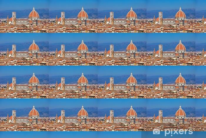 Firenze kaupunkikuva Räätälöity vinyylitapetti - Eurooppa