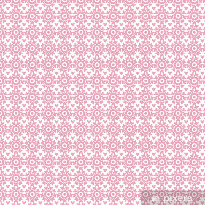 Papier peint vinyle sur mesure Vecteur abstrait rose répéter seamless pattern géométrique - Signes et symboles