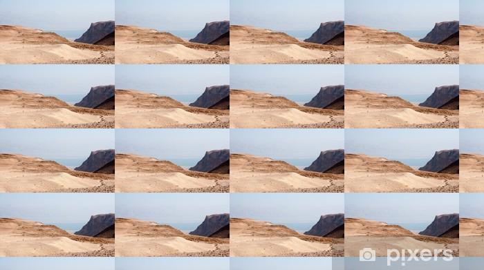 Papier peint vinyle sur mesure Le désert de Judée en pierre - Moyen Orient
