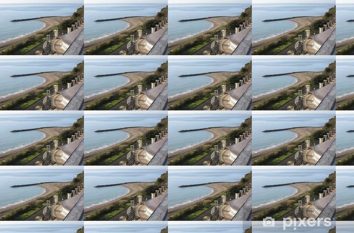 Papier peint vinyle sur mesure Front de mer à Folkestone. Kent. Angleterre - Europe