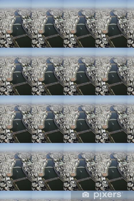 Vinyltapete nach Maß Luftaufnahme des Sumida-ku Bereiche - Sonstige