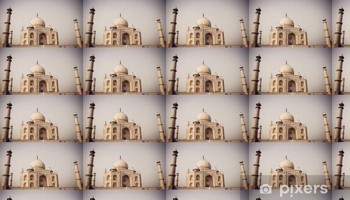 Vinyl behang, op maat gemaakt Taj Mahal, Agra, India met filter - Azië