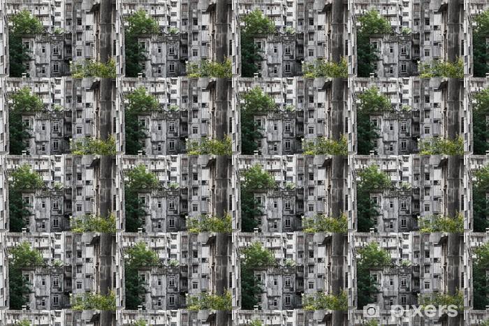 Tapeta na wymiar winylowa Stare budynki w Hong Kongu - Azja