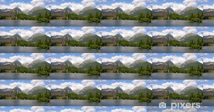 Papier peint vinyle sur mesure Strbske Pleso, Hautes Tatras, en Slovaquie, en Europe - Thèmes