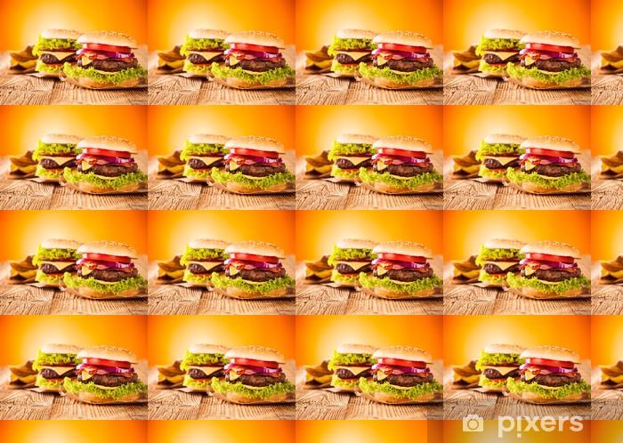 Tapeta na wymiar winylowa Świeże hamburgery - Tematy